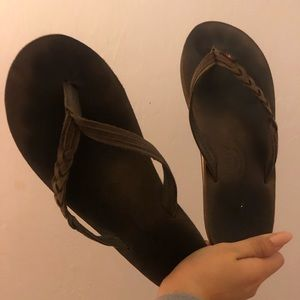 braided rainbow sandals